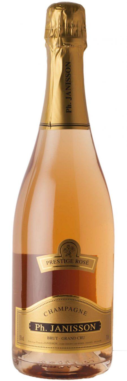 Ph. Janisson 'Prestige Rose' Grand Cru Champagne-0