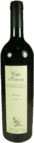 Cape d'Estaing 'Kangaroo Island' Shiraz 2004-0