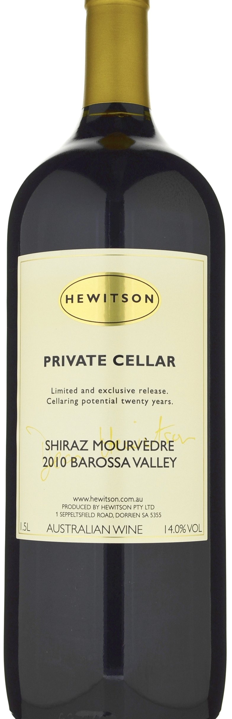Hewitson 'Private Cellar' Shiraz-Mourvedre 2008 (1500ml Magnum)-1479