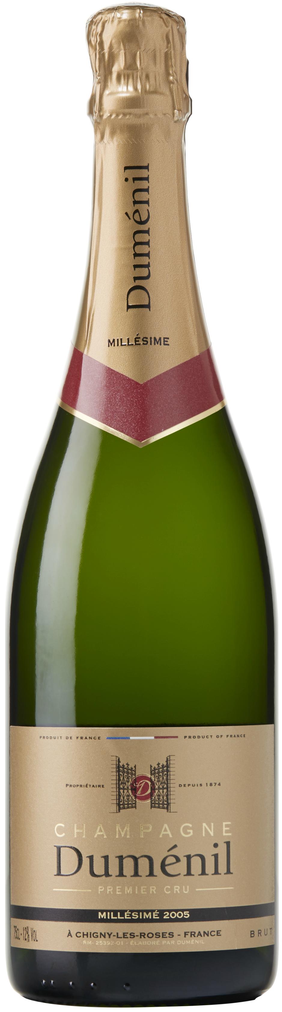 Champagne Dumenil Brut Millésimé 2005-0