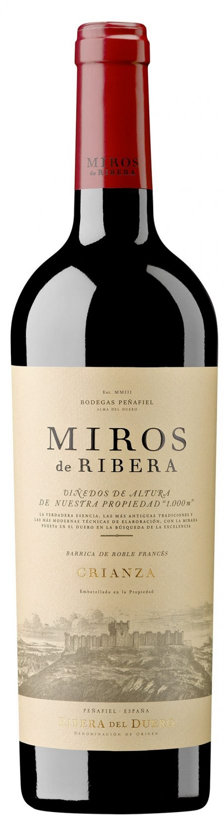 Bodegas Penafiel 'Miros de Ribera' Crianza 2013-0