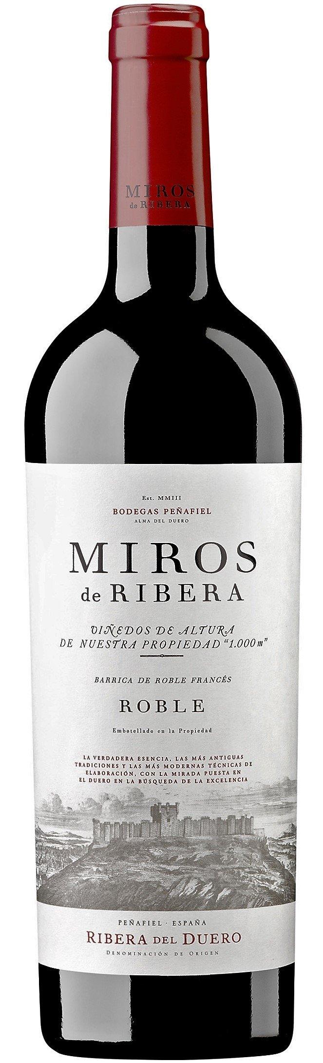 Bodegas Penafiel 'Miros de Ribera' Roble 2015 [Tempranillo-Merlot-Cabernet]-0