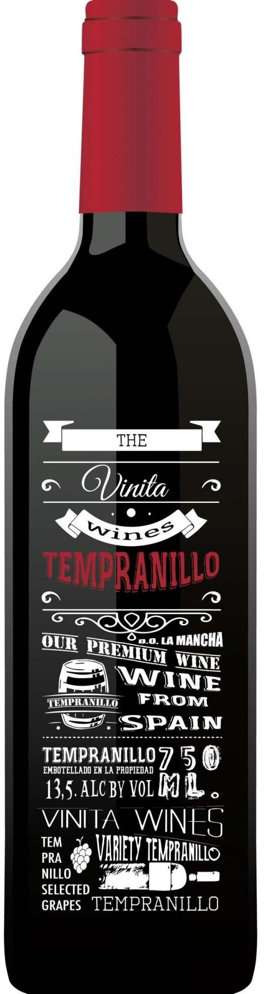 The Vinita Wines Tempranillo 2016-0