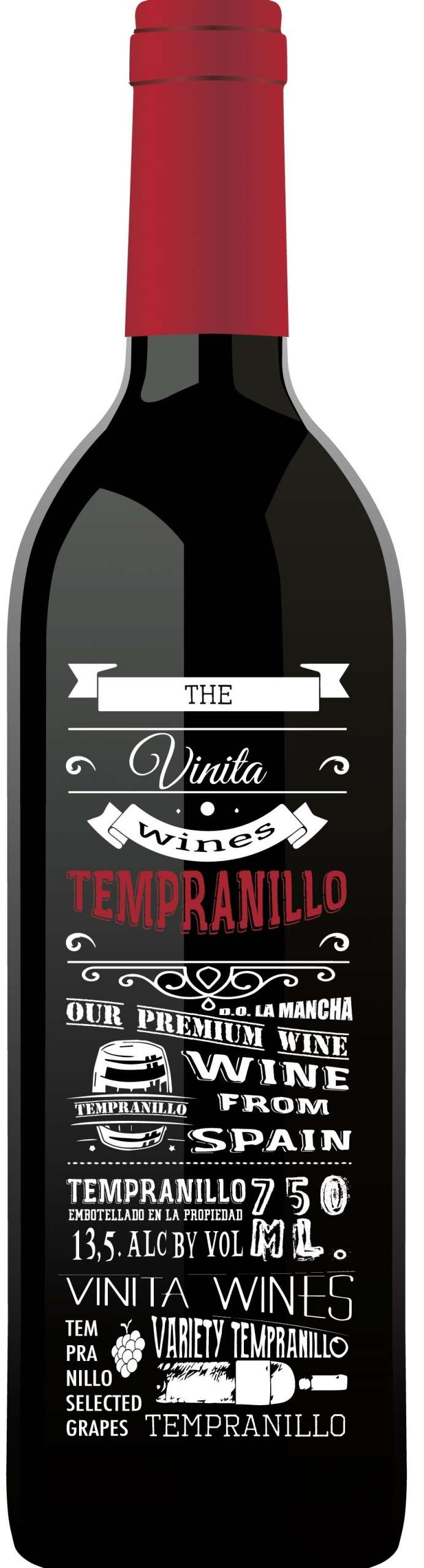 The Vinita Wines Tempranillo 2016-0