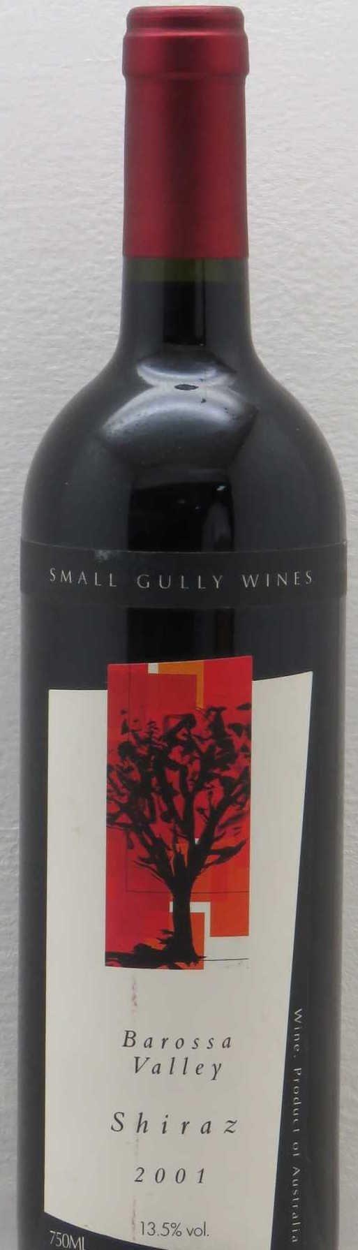 Small Gully Shiraz 2001-0