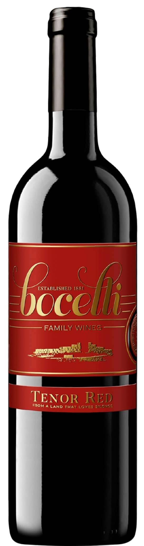 Bocelli Family Wines 'Tenor Red' IGT 2015-0