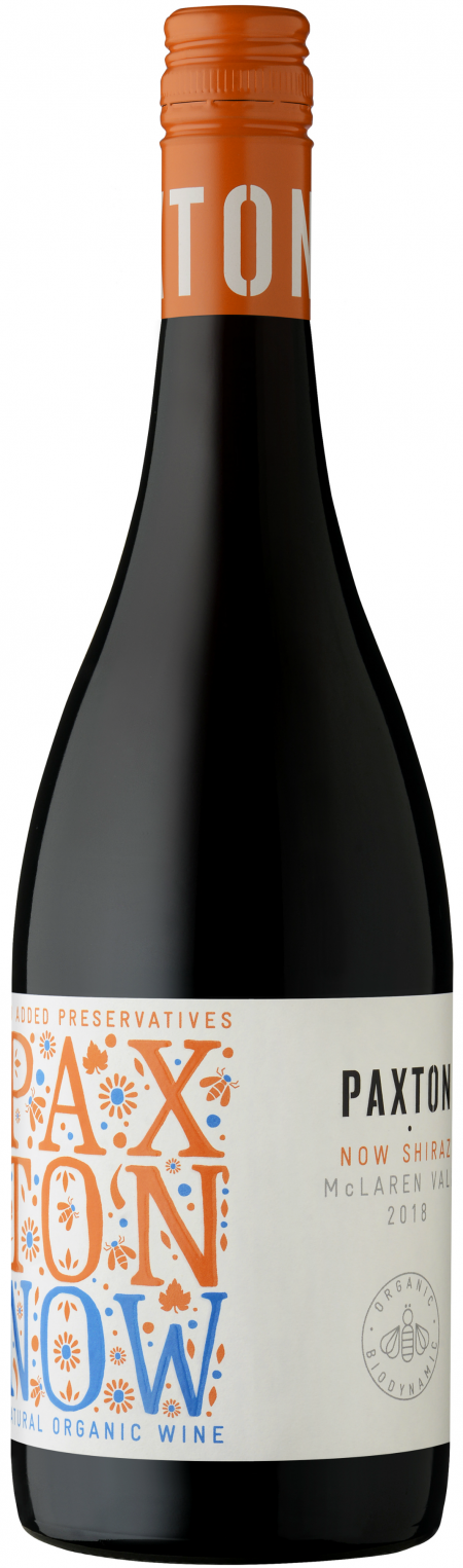 Paxton Organic Preservative Free 'NOW' Shiraz 2019-0