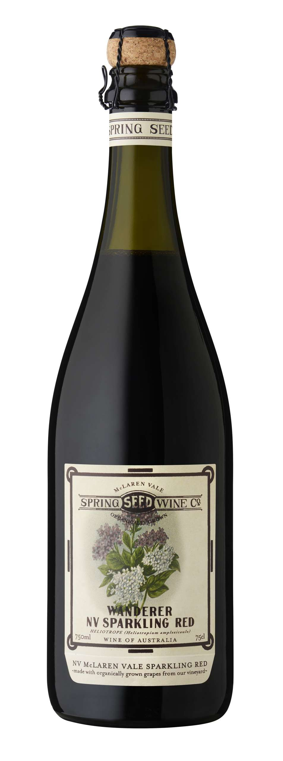 Spring Seed Wine Company 'Wanderer' Sparkling Red N.V. (Organic)-0