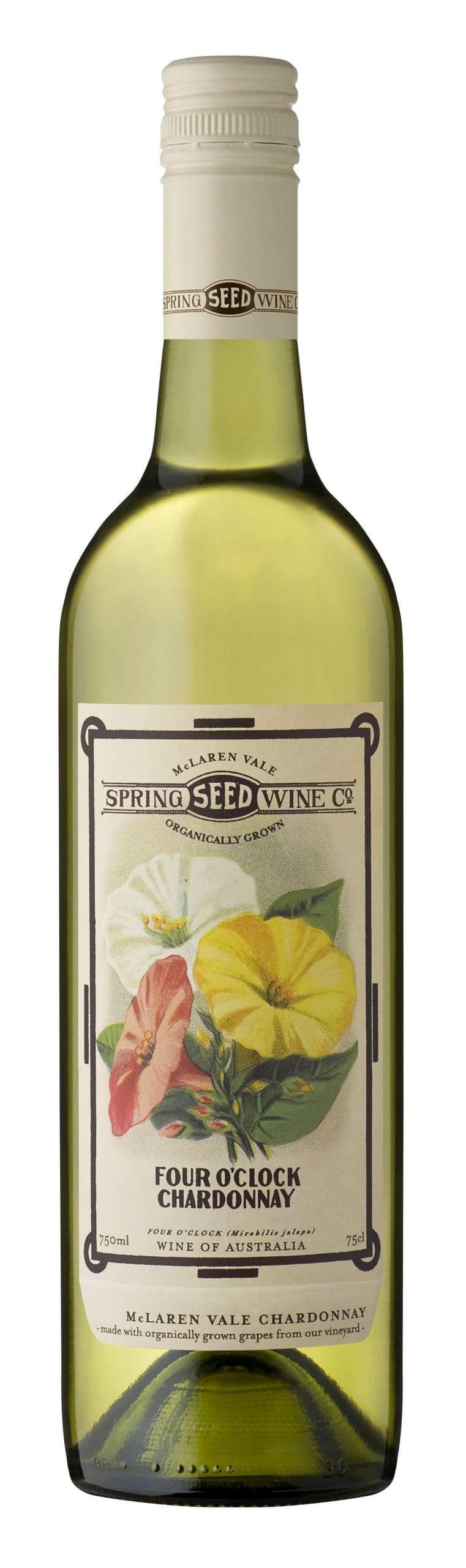 Spring Seed Wine Company 'Four O'Clock' Chardonnay 2018 (Organic)-0