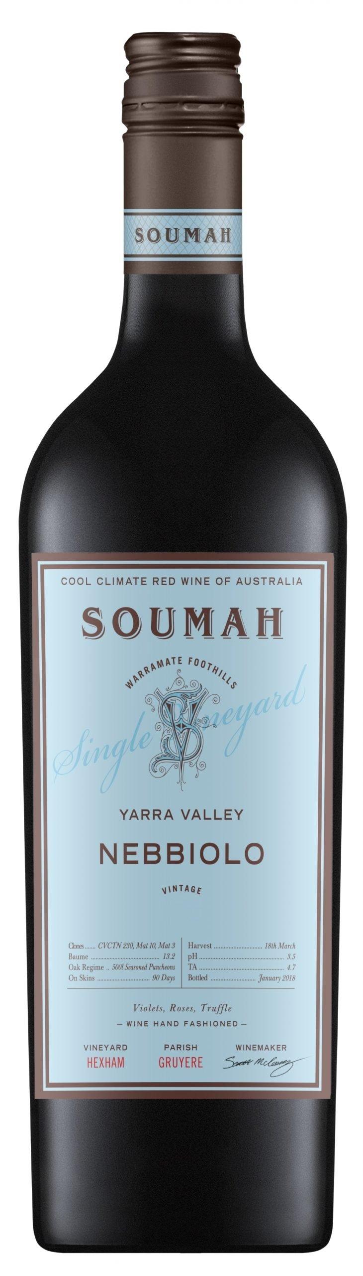 Soumah 'Hexam Vineyard' Nebbiolo 2016-0