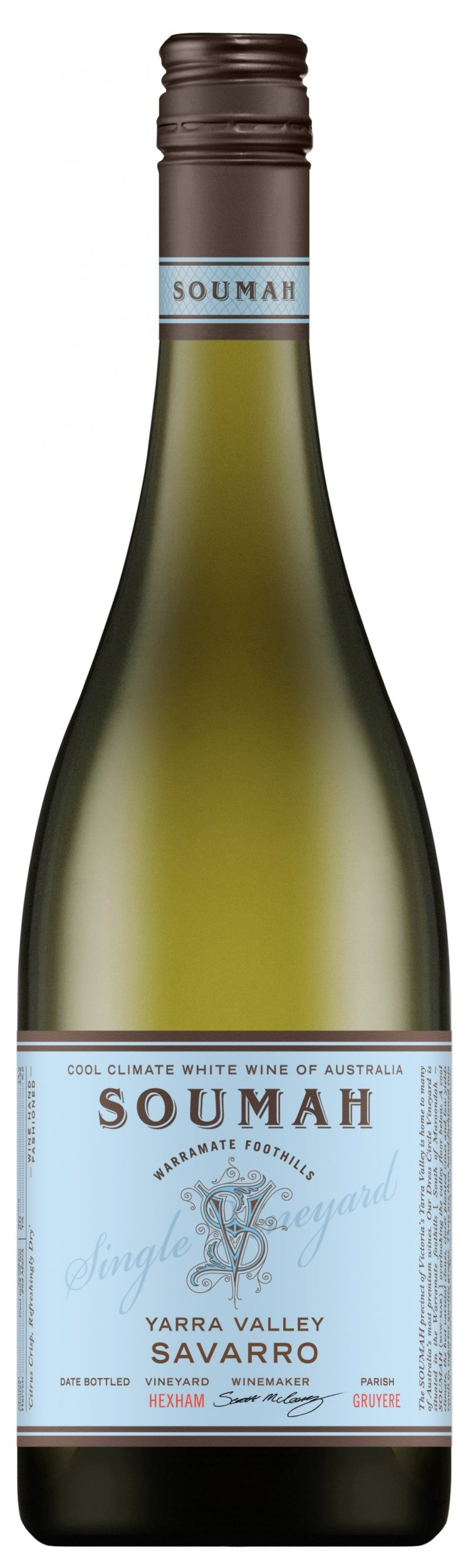 Soumah 'Hexam Vineyard' Savarro/Savagnin 2018-0