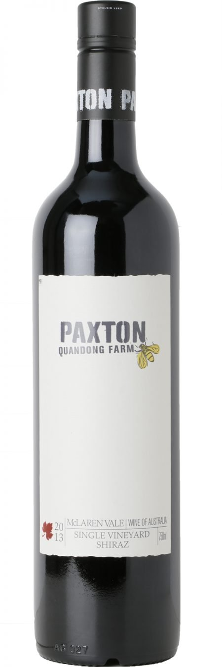 Paxton Organic 'Jones Block' Shiraz 2017-0