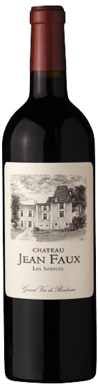 """Ch. Jean Faux """"Les Sources"""" Bordeaux Supérieur Rouge 2015- Buy Red Wine Singapore"""
