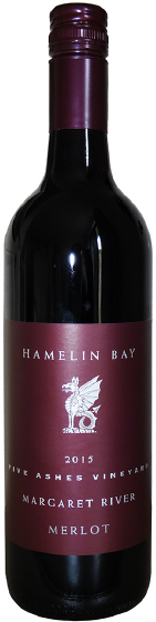 Benchmark WInes - Hamelin Bay Margaret River Merlot 2015