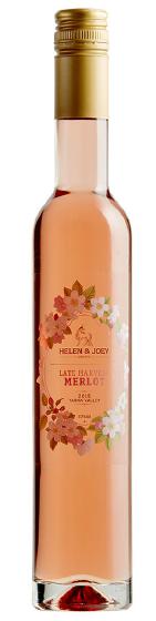 Benchmark Wines - Helen & Joey Estate 'Late Harvest' Merlot 2015 (375ml)