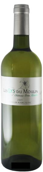 Benchmark Wines- Ch. Gros Moulin 'Lys du Moulin' Côtes de Bourg Blanc 2019