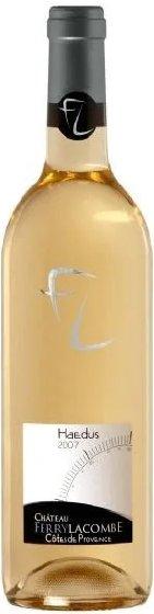 Benchmark Wines - Ch. Ferry Lacombe 'Hadeus' Cotes de Provence Blanc 2015