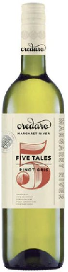 Benchmark Wines - Credaro 'Five Tales' Pinot Gris 2017