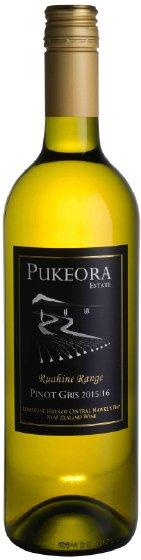 Benchmark Wines - Pukeora Estate Pinot Gris 2015