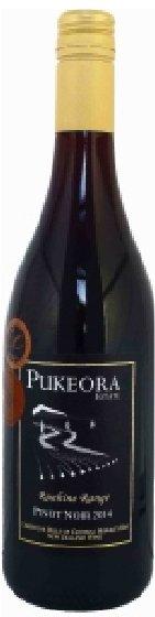 Benchmark Wines - Pukeora Estate Pinot Noir 2014