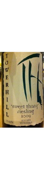 Benchmark Wines - Towerhill Estate 'Sweet Thang' Riesling 2009