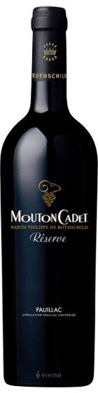 Benchmark Wines_Baron Phillipe de Rothschild 'Reserve Mouton Cadet' Pauillac 2017_Wine Delivery Singapore