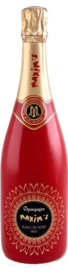 Benchmark Wines-Maxim's de Paris 'Cuvee Red' Blanc de Noirs Champagne NV-Wine Delivery Singapore