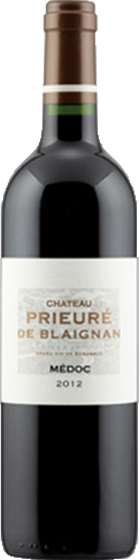Benchmark Wines_Ch. Prieure de Blaignan Medoc Cru Bourgeois (Cabernet Sauvignon-Merlot) 2012_Italian Wines