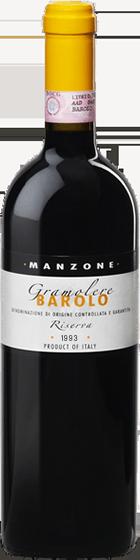 Giovanni Manzone 'Reserva Gramolere' Barolo DOCG 1993 is one of great Italian wines at benchmark wines