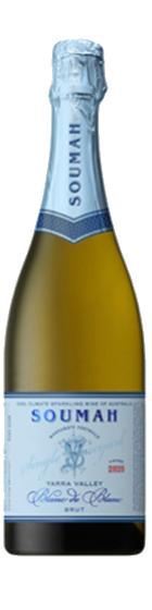 Soumah 'Hexham Vineyard' Blanc de Blanc Sparkling White 2020 is an Australian sparkling white wine