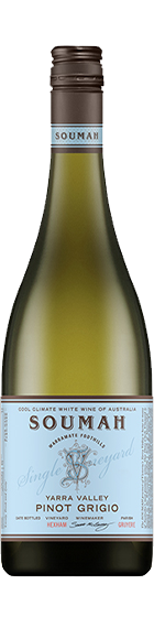 Soumah 'Hexham Vineyard' Pinot Grigio 2020 is one of the highly rated of Australian white wines