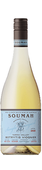 Soumah 'Single Vineyard Botrytis' Viognier 2020 (500ml) is a new collection by Soumah Wines of Yarra Valley