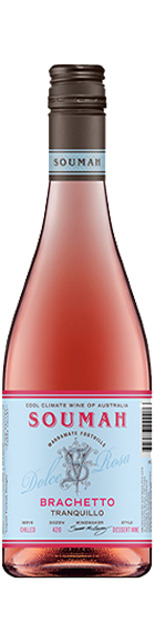 Soumah 'Single Vineyard' Brachetto Tranquilo 2020 is a must have in your rose wine collection